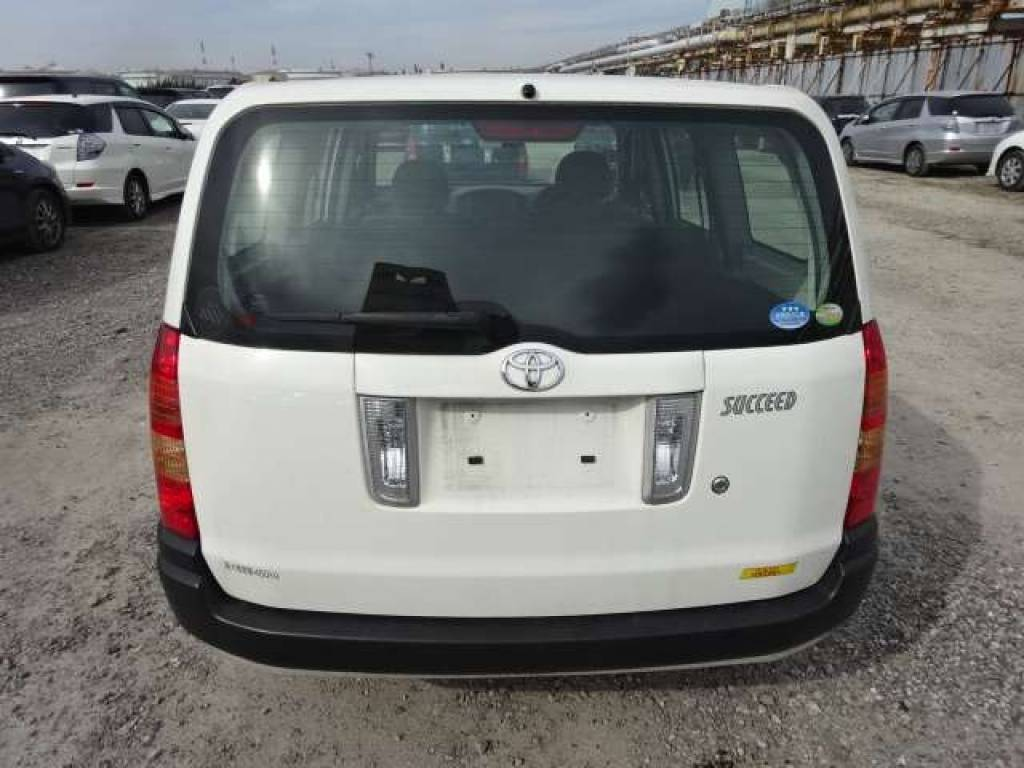 Used 2010 AT Toyota Succeed Van NCP51V Image[4]