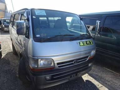 Toyota Hiace Van 2002 from Japan