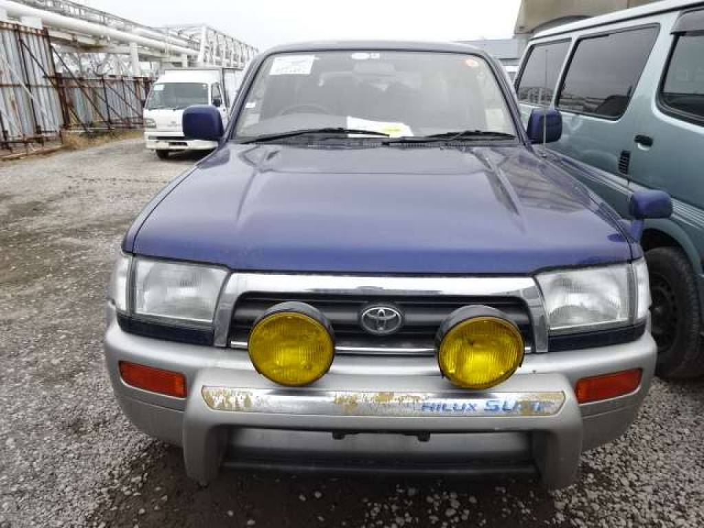 Used 1996 AT Toyota Hilux Surf RZN185 Image[4]