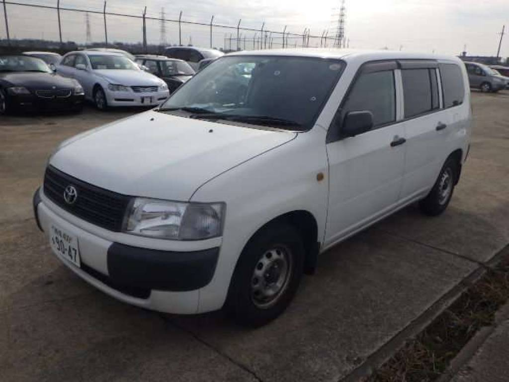 Used 2010 MT Toyota Probox Van NCP50V Image[1]