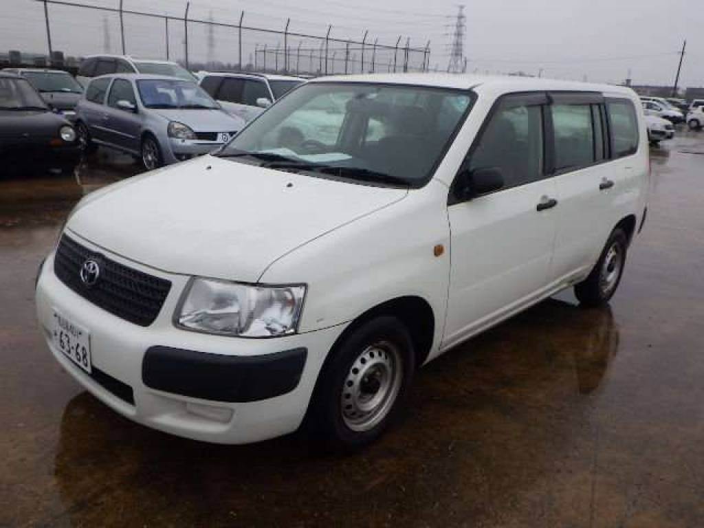 Used 2010 AT Toyota Succeed Van NCP51V Image[1]