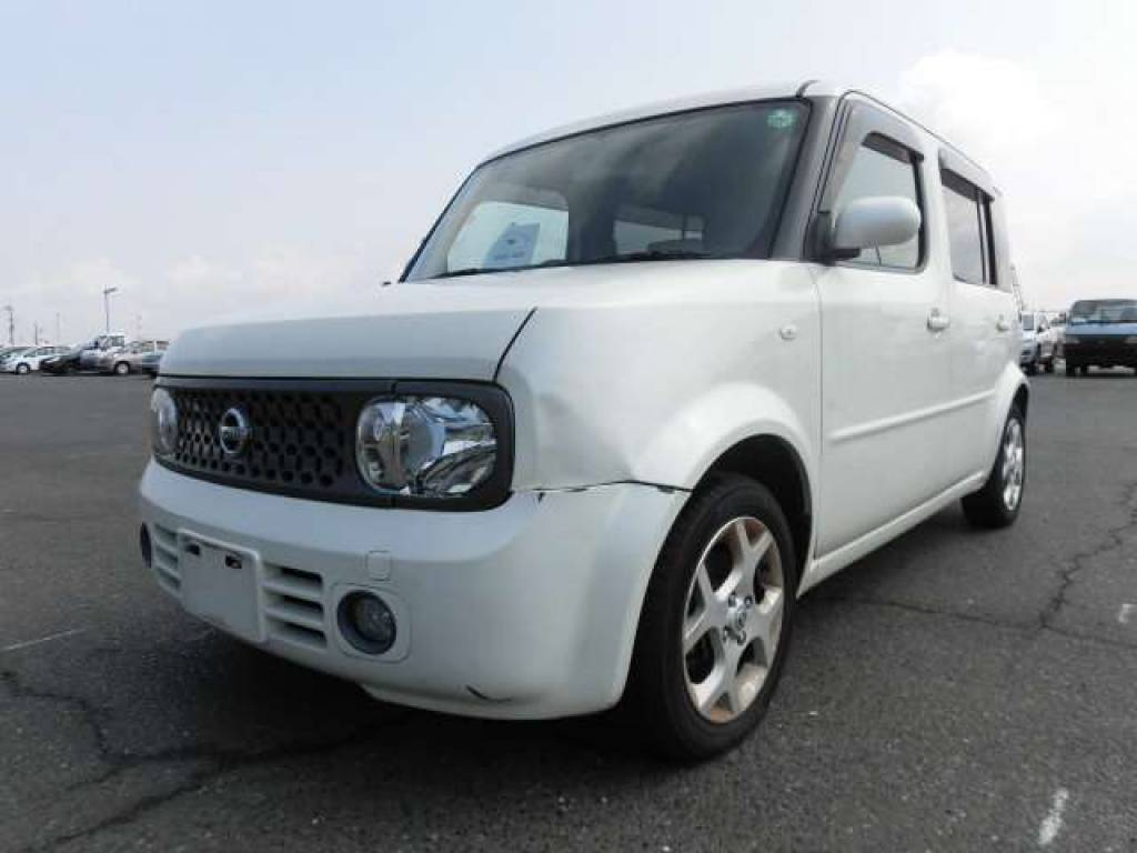 Used 2007 AT Nissan Cube Cubic YGZ11 Image[1]