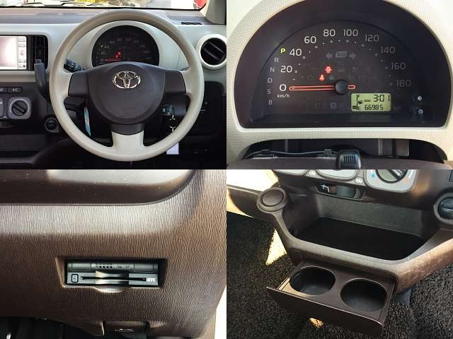 Used 2010 CVT Toyota Passo DBA-KGC30 Image[6]