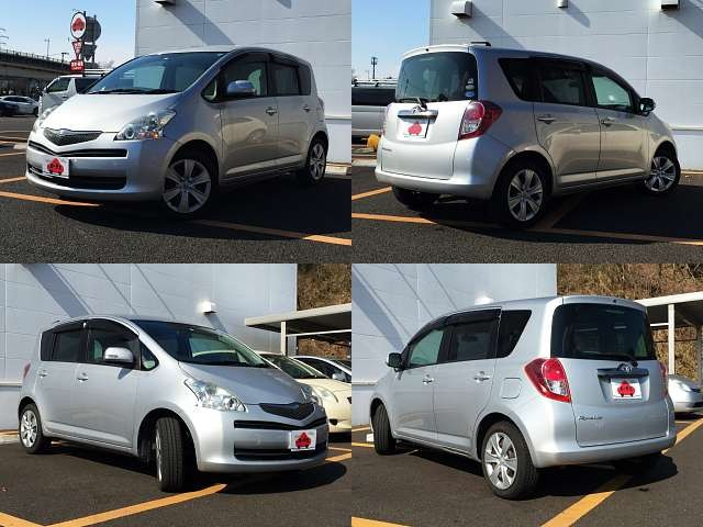 Used 2009 AT Toyota Ractis DBA-SCP100 Image[8]