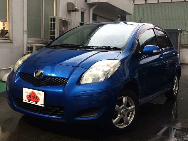 Used 2010 AT Toyota Vitz DBA-SCP90