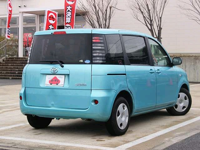 Used 2004 AT Toyota Sienta CBA-NCP81G Image[2]