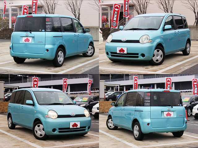 Used 2004 AT Toyota Sienta CBA-NCP81G Image[5]