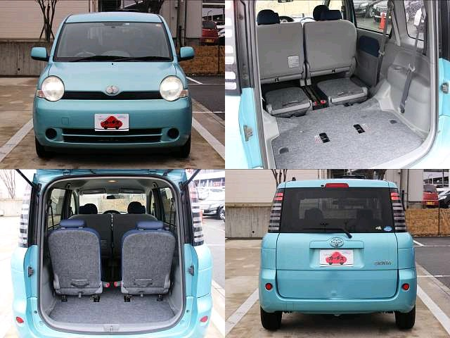 Used 2004 AT Toyota Sienta CBA-NCP81G Image[6]