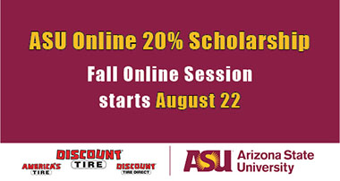 Fall ASU Online Session starts on August 22