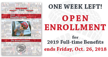 2019 Full-time Benefits Open Enrollment