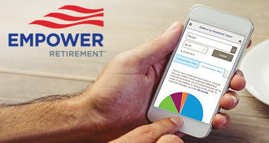 Empower Retirement Mobile Website