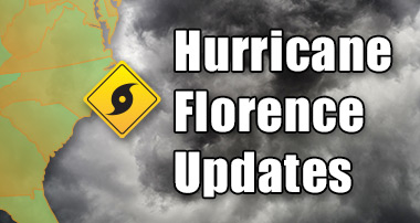 UPDATE: Hurricane Florence Affected Areas