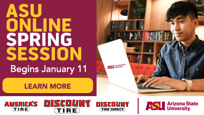 ASU Online Spring Session starts January 11
