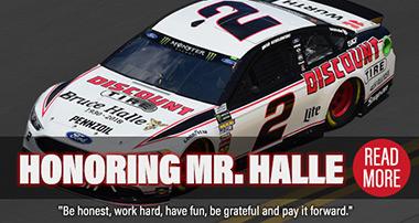 Honoring Mr. Halle