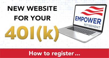 Register on the Empower Retirement Website