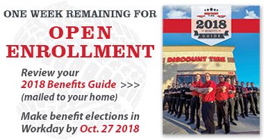 2018 Full-time Benefits Open Enrollment