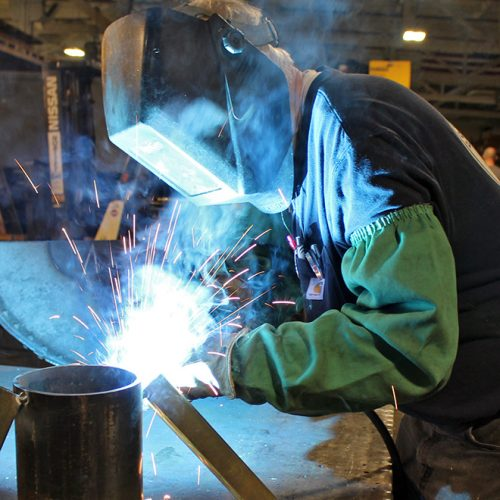 Sheet Metal Fabrication - Welding