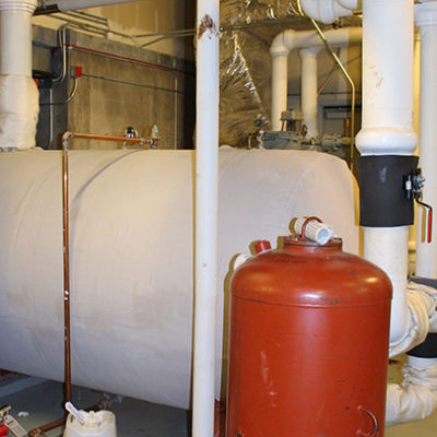 Commercial HVAC Services - Hot Water Tank Design
