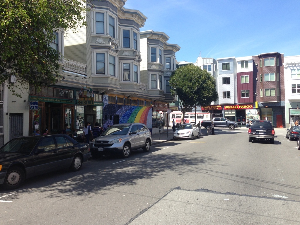 Haight-Ashbury, San Francisco, CA, USA