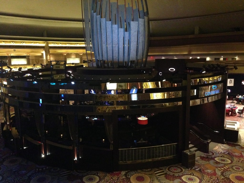 MGM Grand Gold Buckle Zone