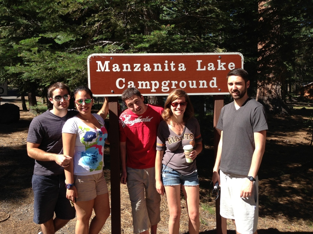 Manzanita Lake loop