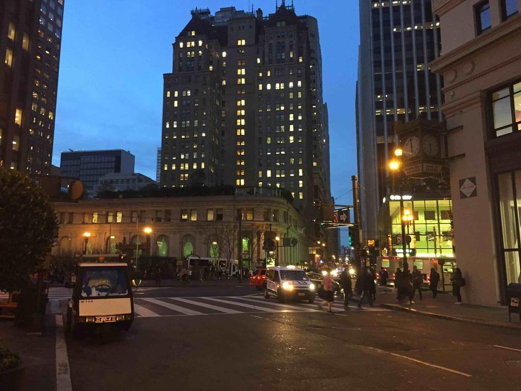 Financial District, San Francisco, CA, USA