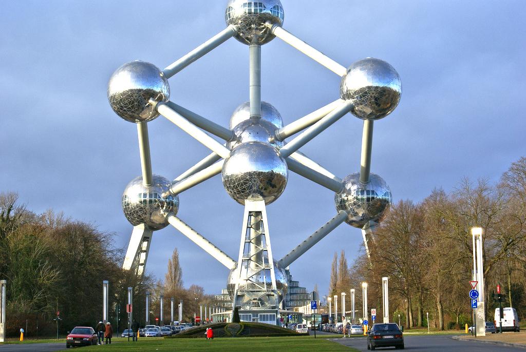 Atomium, 1020 Bruxelles, Belgium