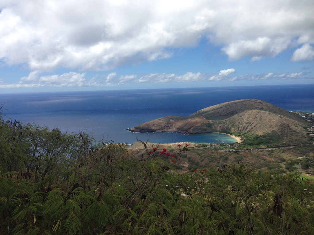 Koko Crater - Top Of The Stairs