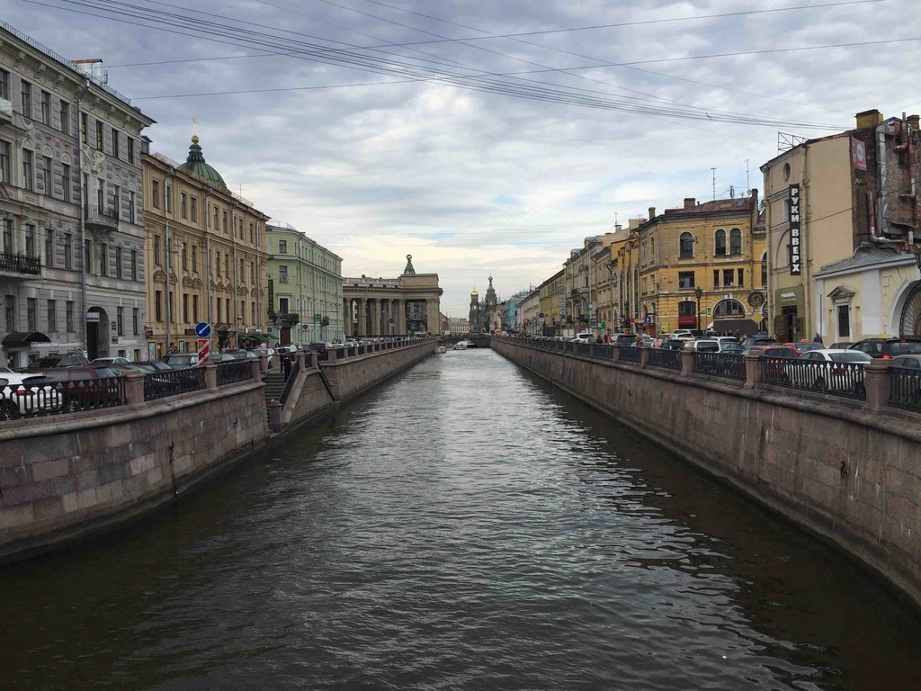Bank Bridge, neberezhnaya kanala Griboyedova, Sankt-Peterburg, Russia, 191186