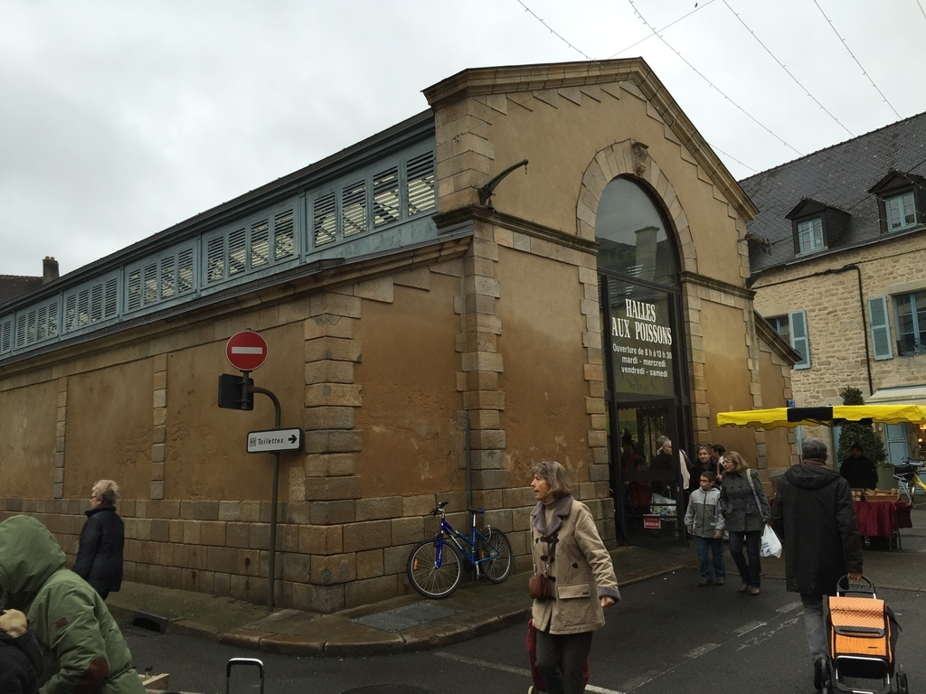 Centre ville de Vannes Altstadt von Vannes