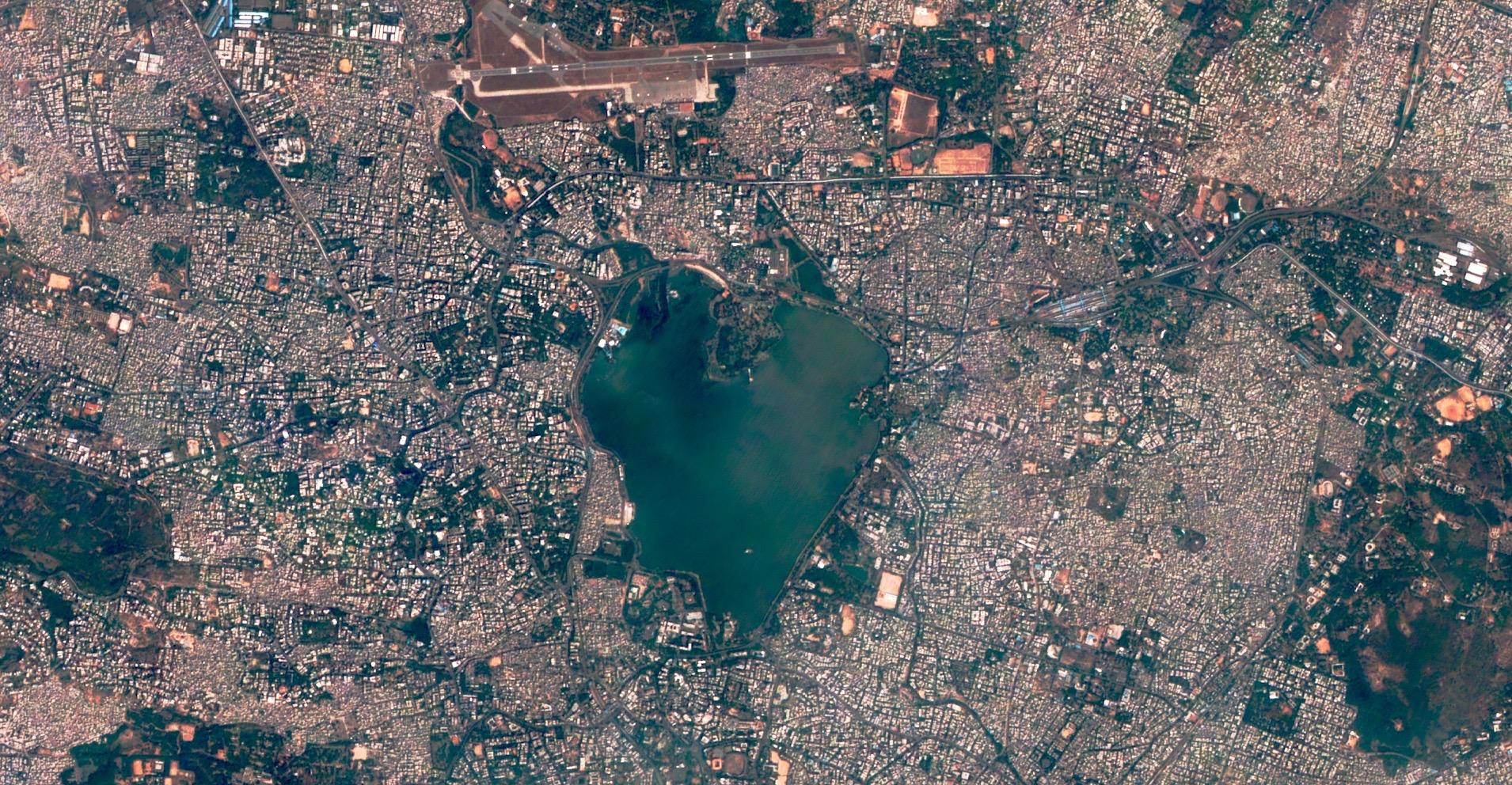 Theia Heart-shaped Lake