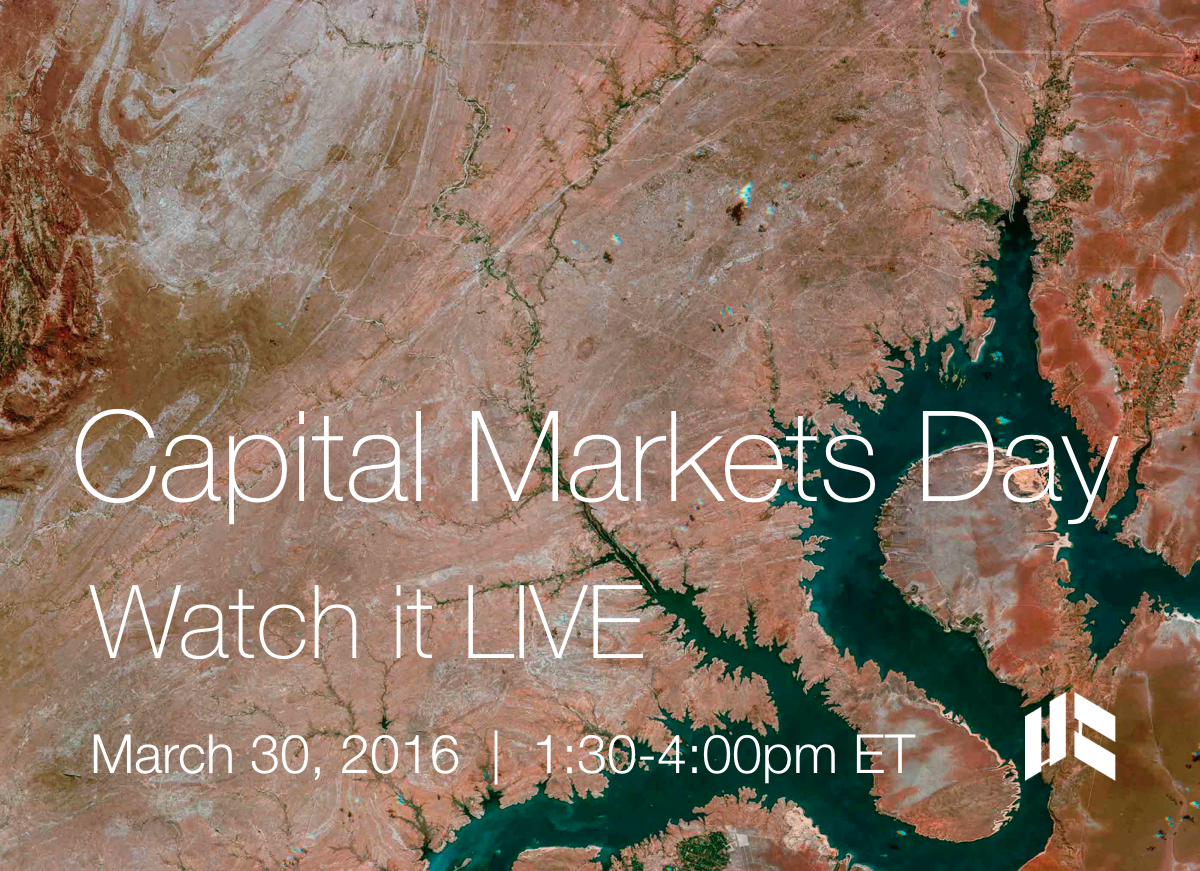 Capital Markets Day March 2016