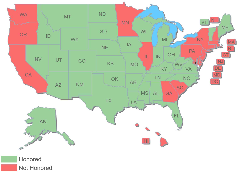 Nebraska Basic CCW Map