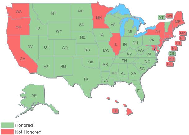 texas ccw map