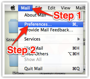 Mac mail whitelist