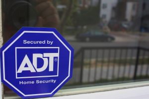 home security system sign