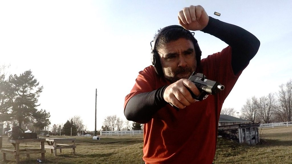 Training with handgun