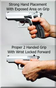 proper grip