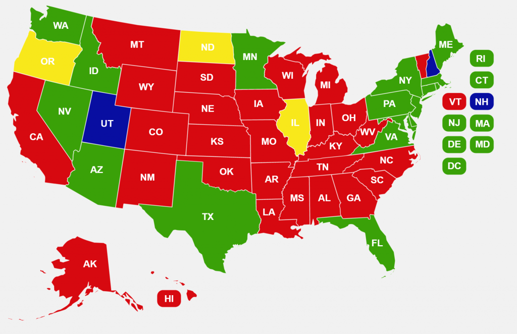 Concealed Carry Non Resident Which States