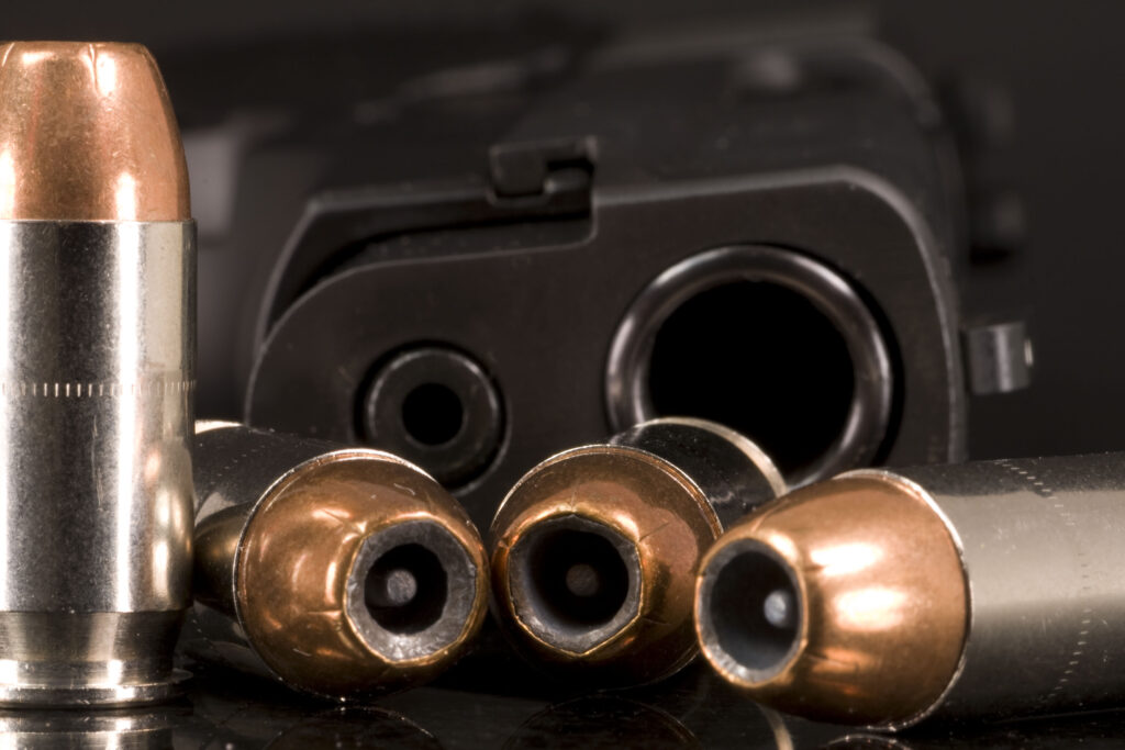Hollow points gun