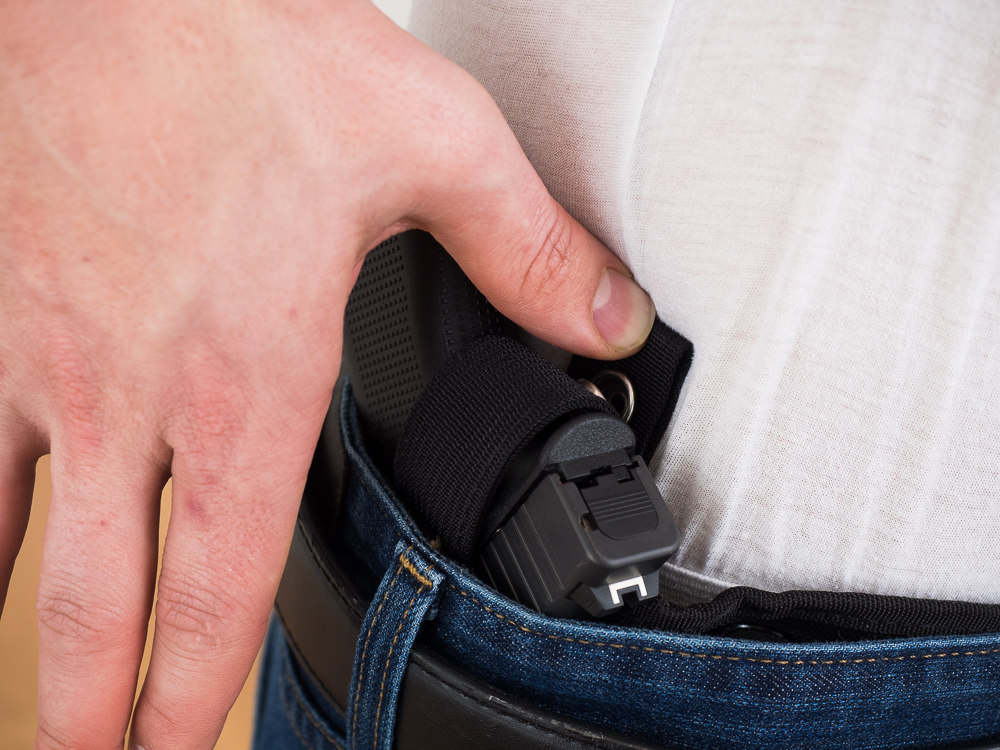 Disengage Holster Retention