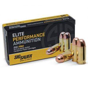 Sig Sauer Elite Performance Ammunition 45 ACP, 230 Grains, FMJ
