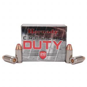 Hornady 45 Automatic Colt Pistol +P, 220 Gr Critical Duty