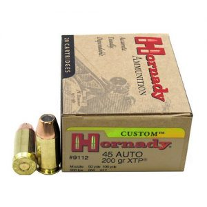 Hornady 45 Automatic Colt Pistol 45 ACP, 200 Gr, XTP