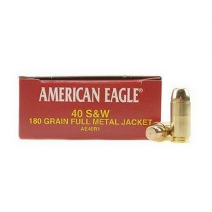 Federal Cartridge 40 Smith & Wesson 40 S&W, 180gr, Full Metal Jacket