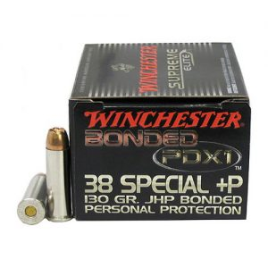 Winchester Ammo 38 Special +P 130gr PDX1