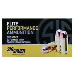 Sig Sauer Elite Performance Ammunition 38 Special, 125 Grains, FMJ