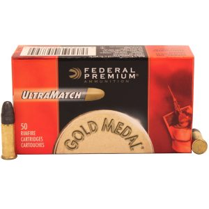 Federal Cartridge 22 Long Rifle 40gr Premium Ultra Match