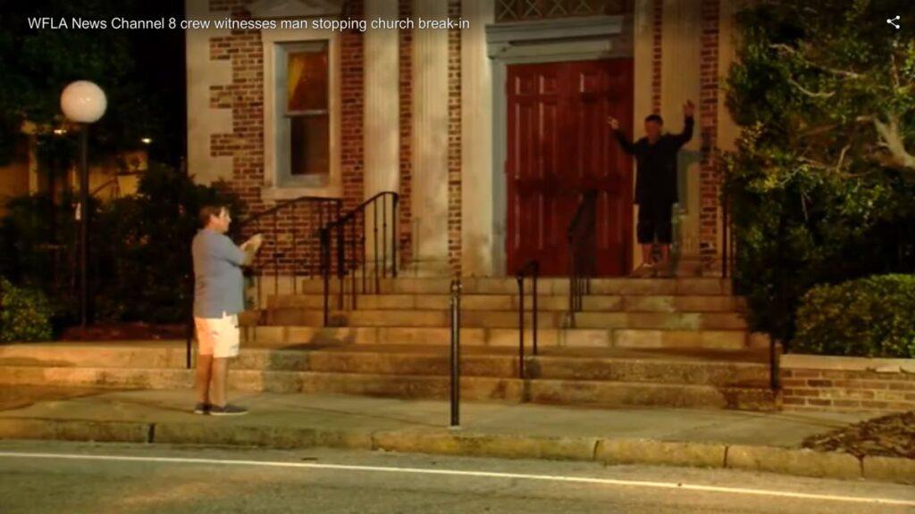 Concealed Carry Holder Florida Church Burglar