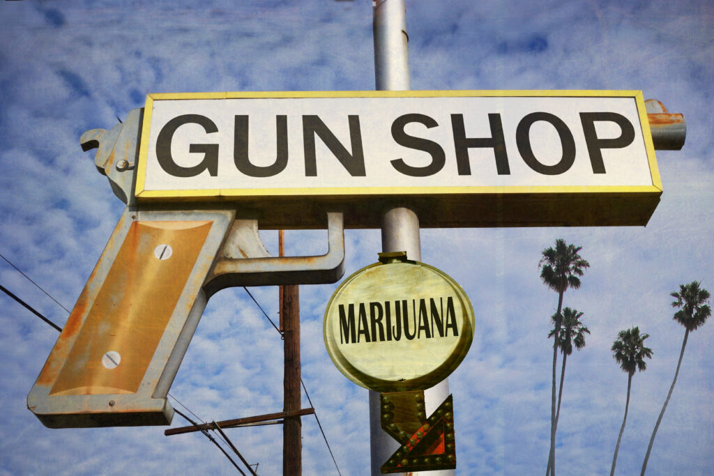 gun laws and marijuana concealed carry license state